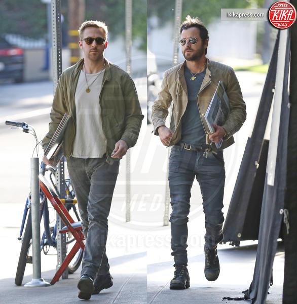 Ryan Gosling, Justin Theroux - Los Angeles - 20-04-2017 - Ryan Gosling - Justin Theroux: il pranzo dei sex symbol