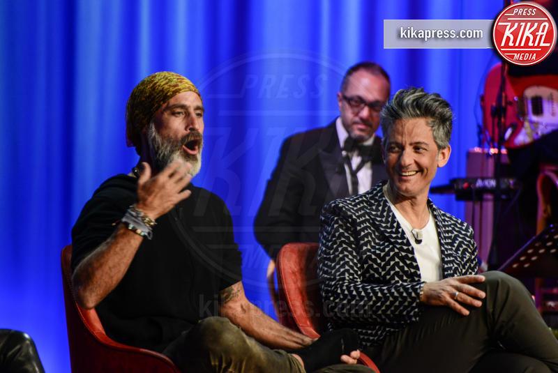 Rosario Fiorello, Raz Degan - Roma - 19-04-2017 - Il coraggio di Gessica Notaro commuove il Maurizio Costanzo Show