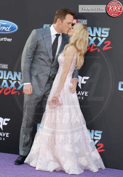 Anna Faris, Chris Pratt - Los Angeles - 19-04-2017 - Guardiani della Galassia 2: la crew Stallone si prende la scena