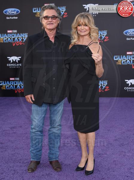 Kurt Russell, Goldie Hawn - Hollywood - 19-04-2017 - Guardiani della Galassia 2: la crew Stallone si prende la scena
