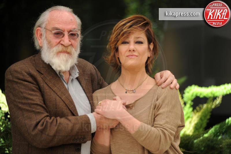 Renato Carpentieri, Giovanna Mezzogiorno - Roma - 20-04-2017 - La tenerezza: svetta il trio Ramazzotti-Germano-Mezzogiorno