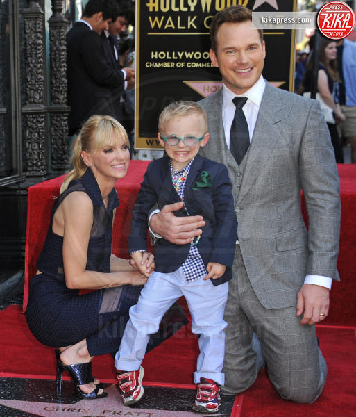 Jack Pratt, Anna Faris, Chris Pratt - Hollywood - 21-04-2017 - Chris Pratt si sposa: arriva il commento dell'ex Anna Faris