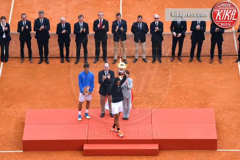 Albert Ramos-Vinolas, Principe Alberto di Monaco, Rafael Nadal - Monte Carlo - 23-04-2017 - Il Principe Alberto incorona Rafael Nadal re di Monte Carlo
