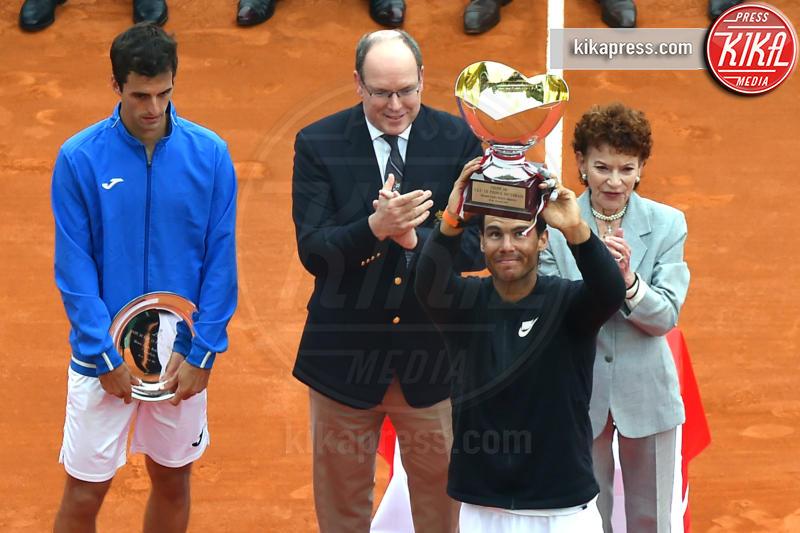 Albert Ramos-Vinolas, Principe Alberto di Monaco, Rafael Nadal - 23-04-2017 - Il Principe Alberto incorona Rafael Nadal re di Monte Carlo
