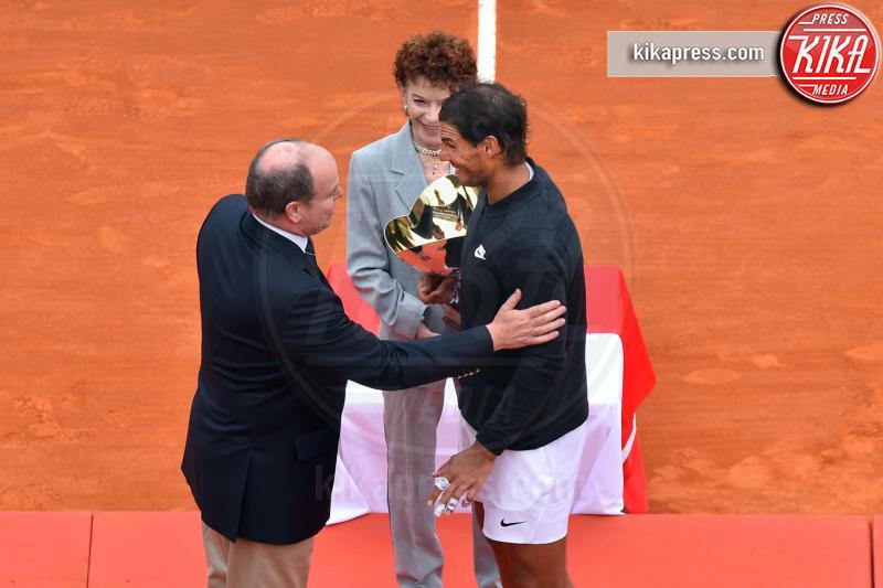 Principe Alberto di Monaco, Rafael Nadal - Monte Carlo - 23-04-2017 - Il Principe Alberto incorona Rafael Nadal re di Monte Carlo