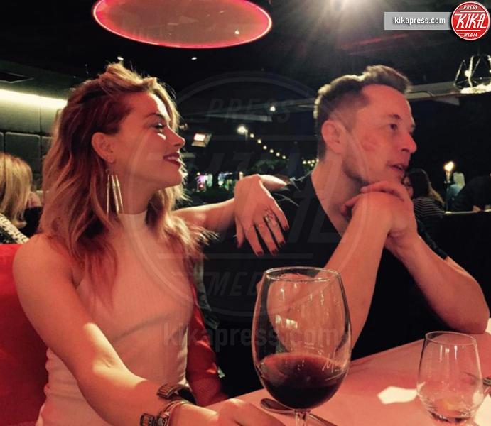 Elon Musk, Amber Heard - Hollywood - 24-04-2017 - Sean Penn e Amber Heard, il nuovo amore di Hollywood