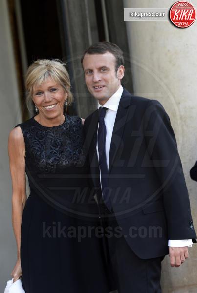 Emmanuel Macron, Brigitte Trogneux - Parigi - 02-06-2015 - Da Halle Berry a Brigitte Macron: le donne amano i giovani