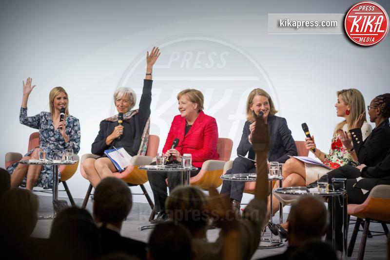 Chrystia Freeland, G20 Women Summit, Regina Maxima d'Olanda, Christine Lagarde, Angela Merkel, Ivanka Trump - Berlino - 25-04-2017 - G20 Women Summit: Invanka Trump difende il padre... contro tutte