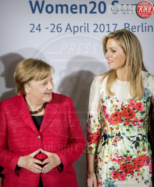G20 Women Summit, Regina Maxima d'Olanda, Angela Merkel - Berlino - 25-04-2017 - G20 Women Summit: Invanka Trump difende il padre... contro tutte