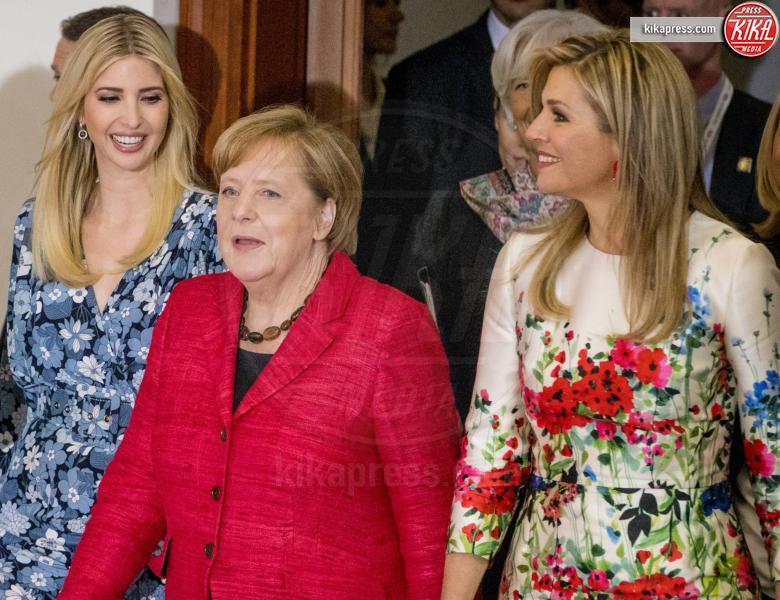 G20 Women Summit, Regina Maxima d'Olanda, Angela Merkel, Ivanka Trump - Berlino - 25-04-2017 - G20 Women Summit: Invanka Trump difende il padre... contro tutte