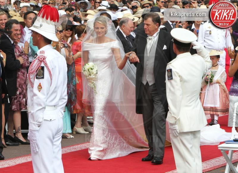 Principessa Charlene Wittstock - Monte Carlo - 02-07-2011 - Kate Middleton e le altre: da Cenerentola a principessa