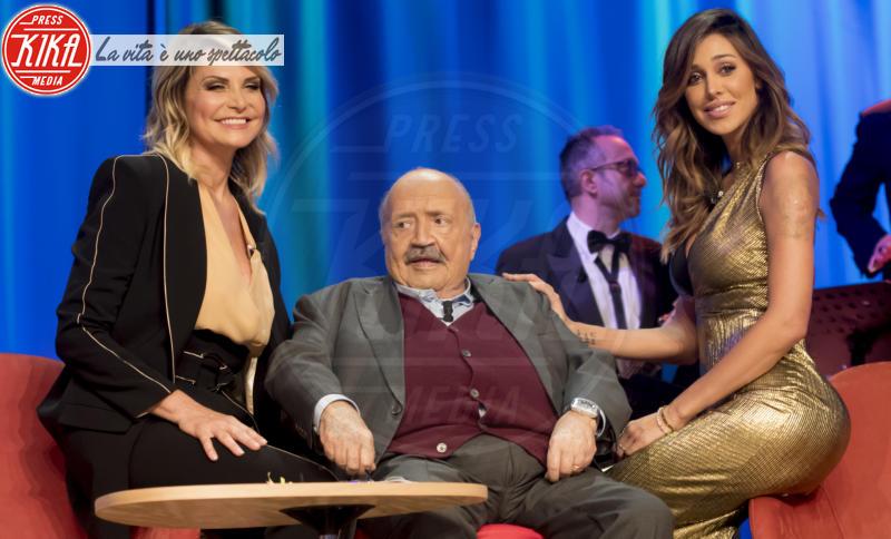 Maurizio Costanzo, Belen Rodriguez, Simona Ventura - Roma - Simona Ventura - Stefano Bettarini: la foto che non ti aspetti