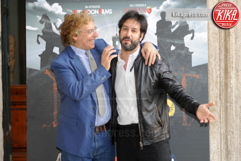 Massimo Scaglione, Matteo Branciamore - Roma - 27-04-2017 - Il Mondo di Mezzo: arriva al cinema Mafia Capitale