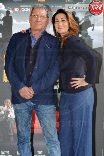 Barbara Bacci, Tony Sperandeo - Roma - 27-04-2017 - Il Mondo di Mezzo: arriva al cinema Mafia Capitale
