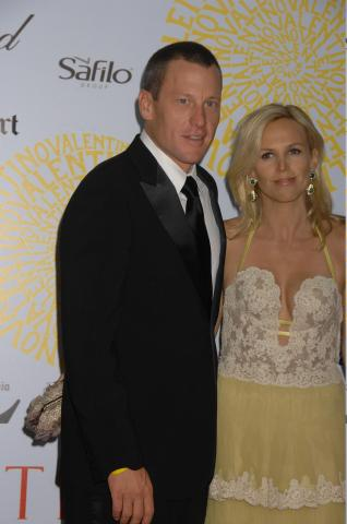 Lance Armstrong - Roma - Lance Armstrong padre per la quinta volta