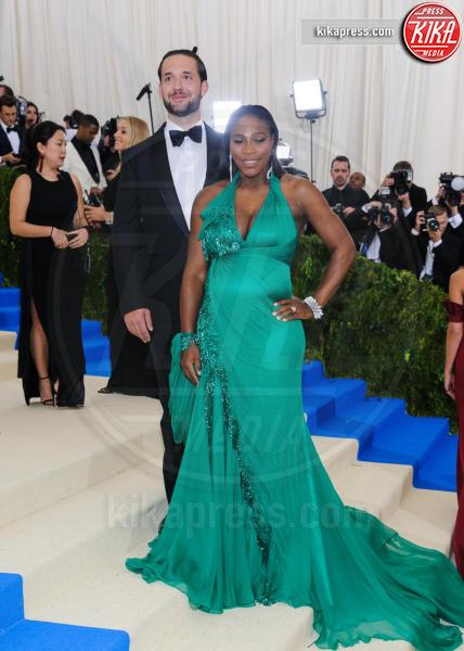 Alexis Ohanian, Serena Williams - New York - 02-05-2017 - Serena Williams: la prima foto con Alexis Olympia