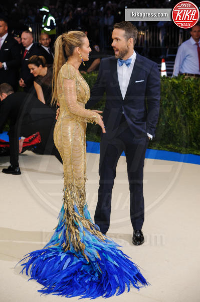 Blake Lively, Ryan Reynolds - New York - 02-05-2017 - Met Gala: Rihanna la più eccentrica, loro le più sexy