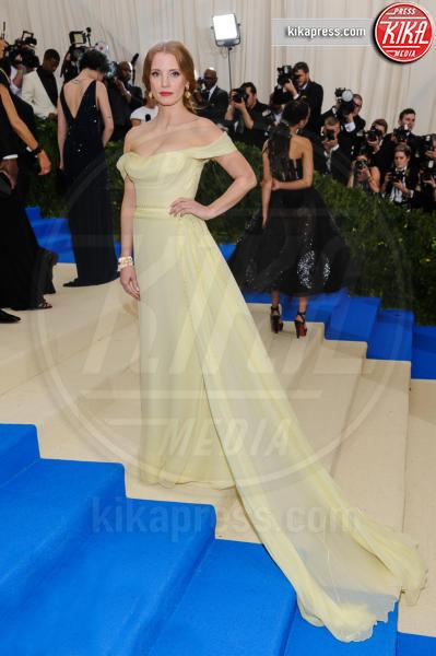 Jessica Chastain - New York - 02-05-2017 - Met Gala: Rihanna la più eccentrica, loro le più sexy