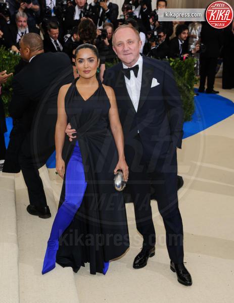 François-Henri Pinault, Salma Hayek - New York - 02-05-2017 - Met Gala: Rihanna la più eccentrica, loro le più sexy