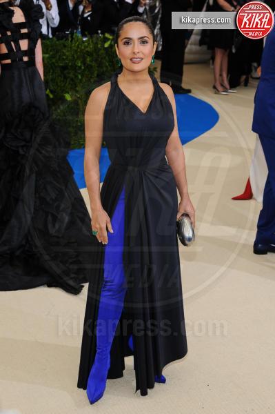 Salma Hayek - New York - 02-05-2017 - Met Gala: Rihanna la più eccentrica, loro le più sexy