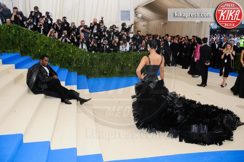 Cassie Ventura, Sean Combs - New York - 02-05-2017 - Met Gala: Rihanna la più eccentrica, loro le più sexy