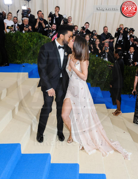 The Weeknd, Selena Gomez - New York - 02-05-2017 - Met Gala: Rihanna la più eccentrica, loro le più sexy