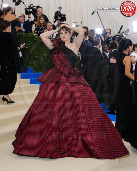 Lena Dunham - New York - 02-05-2017 - Met Gala: Rihanna la più eccentrica, loro le più sexy