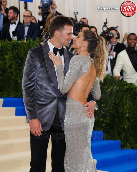 Giselle Bundchen, Tom Brady - New York - 02-05-2017 - Met Gala: Rihanna la più eccentrica, loro le più sexy