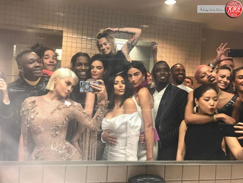 Asap Rocky, Kendall Jenner, Kylie Jenner, Puff Daddy - New York - 02-05-2017 - Il fidanzato di Kendall Jenner svelato da un post