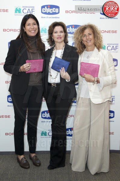 Francesca Mambrini, Luisa Pavia, Francesca Catelli - Milano - 03-05-2017 - Rocio Munoz Morales madrina del nuovo Chicco di felicità 2017