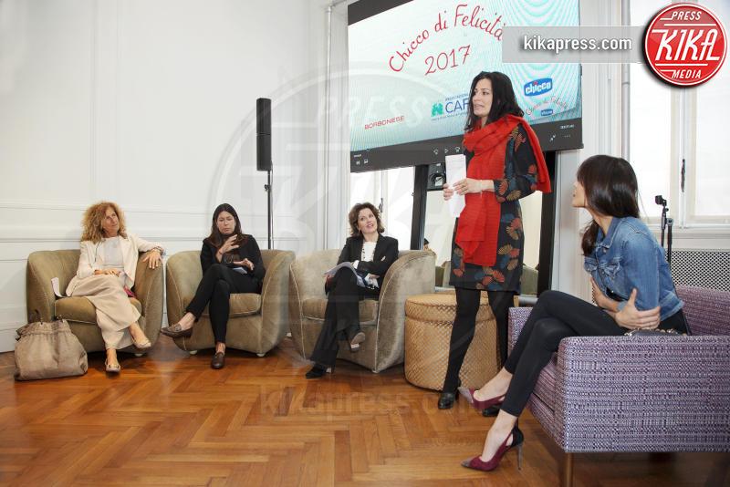 Francesca Mambrini, Luisa Pavia, Francesca Catelli, Rocio Munoz Morales - Milano - 03-05-2017 - Rocio Munoz Morales madrina del nuovo Chicco di felicità 2017