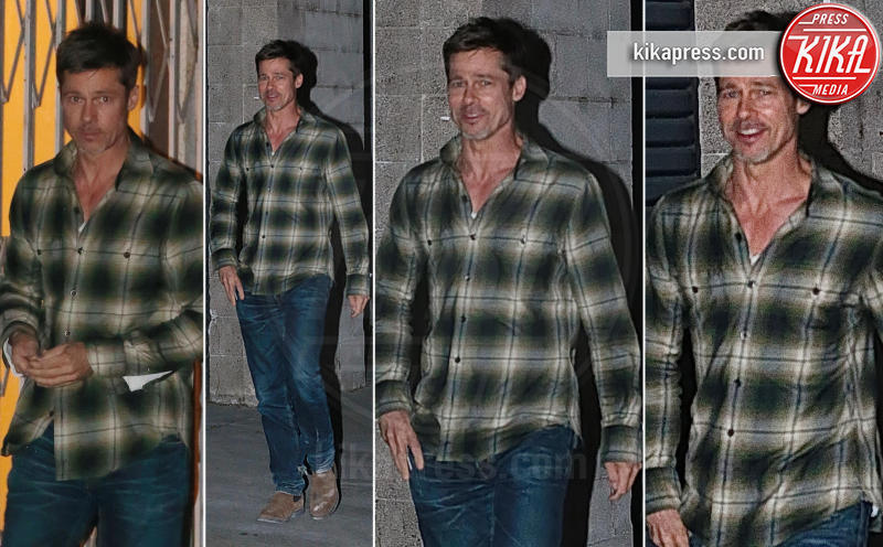 Brad Pitt - Los Angeles - 03-05-2017 - Brad Pitt, il divorzio lo ha rovinato: ora è magro e scavato
