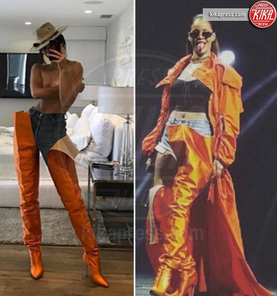 Kendall Jenner, Rihanna - 05-05-2017 - Chi lo indossa meglio? Kendall Jenner e Rihanna