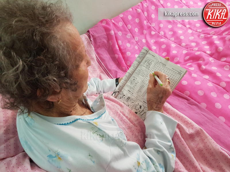 Liberata Pregevole - POMPEI - 04-05-2017 - Liberata, 103 anni, miracolata nel Santuario di Pompei