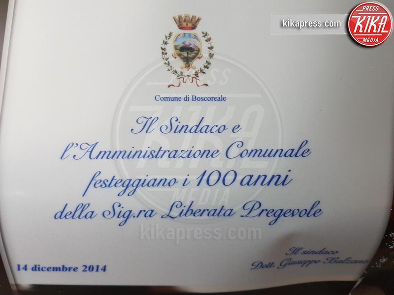 Comune di Boscoreale - POMPEI - 04-05-2017 - Liberata, 103 anni, miracolata nel Santuario di Pompei