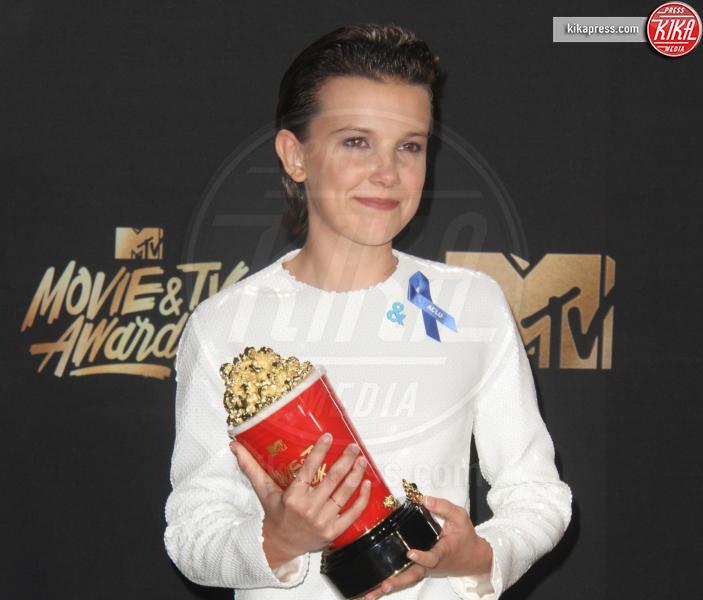 Millie Bobby Brown - Los Angeles - 08-05-2017 - MTV Movie & TV Awards: il discorso di Millie Bobby Brown