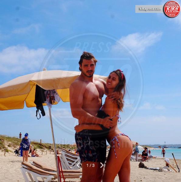Francesco Monte, Cecilia Rodriguez - Los Angeles - 08-05-2017 - Isola, la promessa di Francesco Monte: