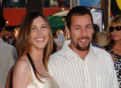 Jackie Titone, Adam Sandler - Universal City - 12-07-2007 - Secondo figlio per Adam Sandler