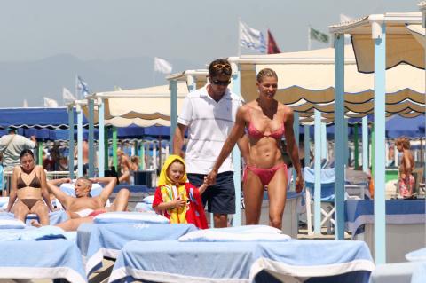 Achille, Alessandro Costacurta, Martina Colombari - Forte dei Marmi - Martina Colombari si sfoga: