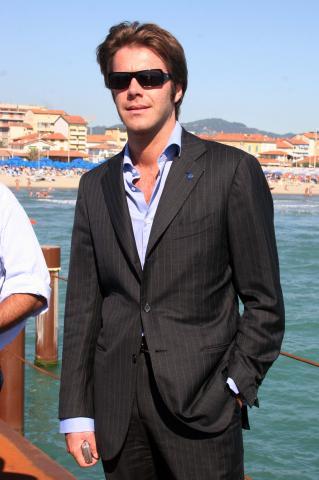 "Emanuele Filiberto di Savoia - Lido di Camaiore - 16-07-2007 - Emanuele Filiberto firma linea uomo ""Principe d'Italia"""