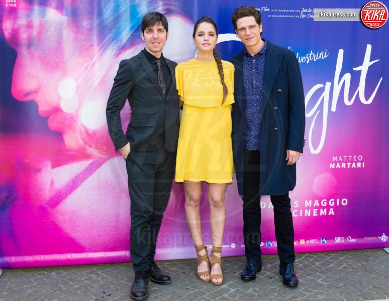 Matteo Martari, Matilde Gioli, Ivan Silvestrini - Roma - 10-05-2017 - Matilde Gioli presenta a Roma 2Night