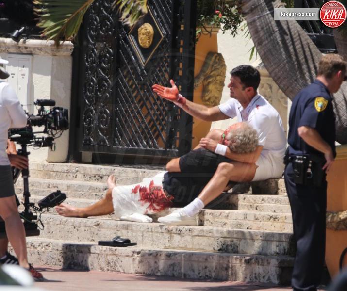 Edgar Ramirez, Ricky Martin - Los Angeles - 10-05-2017 - Penelope Cruz vestita a lutto nei panni di Donatella Versace