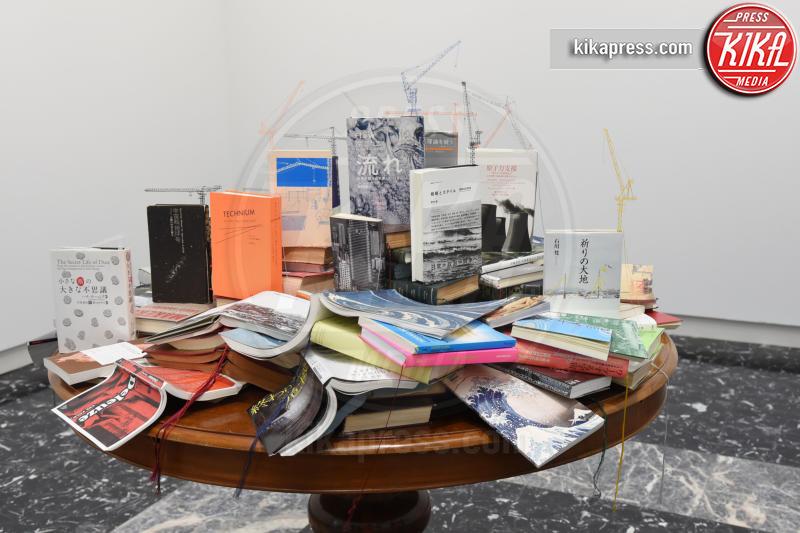 Padiglione Giappone - Venezia - 10-05-2017 - Maria Grazia Cucinotta ospite del padiglione Malta alla Biennale