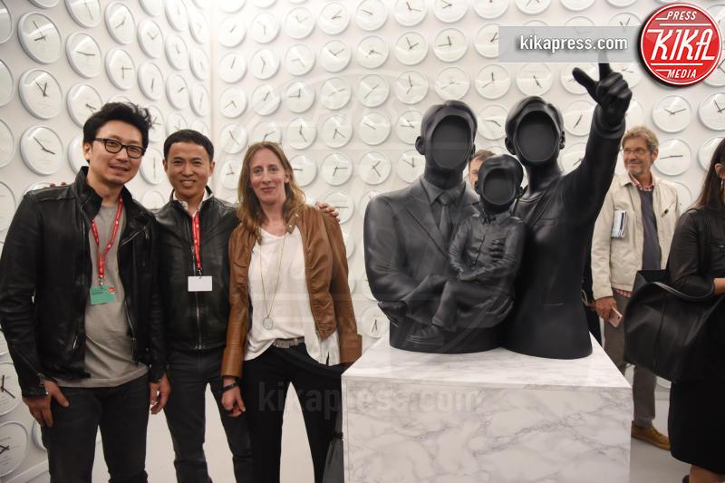 Padiglione Corea - Venezia - 10-05-2017 - Maria Grazia Cucinotta ospite del padiglione Malta alla Biennale
