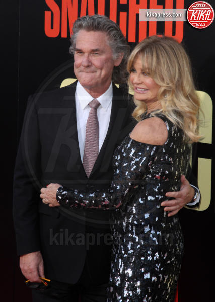 Kurt Russell, Goldie Hawn - Los Angeles - 10-05-2017 - Kate Hudson-Danny Fujikawa, public debut alla prima di Snatched