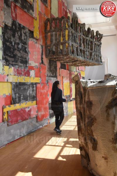 Padiglione UK - Venezia - 10-05-2017 - Maria Grazia Cucinotta ospite del padiglione Malta alla Biennale