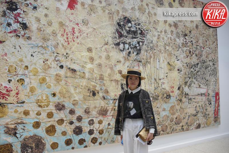 Padiglione USA - Venezia - 10-05-2017 - Maria Grazia Cucinotta ospite del padiglione Malta alla Biennale