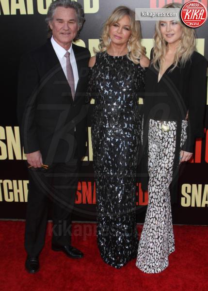 Kurt Russell, Goldie Hawn, Kate Hudson - Los Angeles - 10-05-2017 - Kate Hudson-Danny Fujikawa, public debut alla prima di Snatched