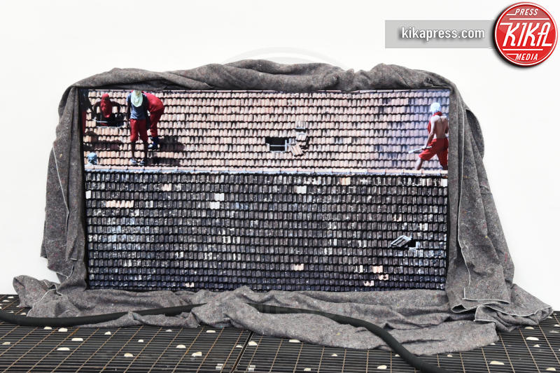 Padiglione Brasile - Venezia - 10-05-2017 - Maria Grazia Cucinotta ospite del padiglione Malta alla Biennale