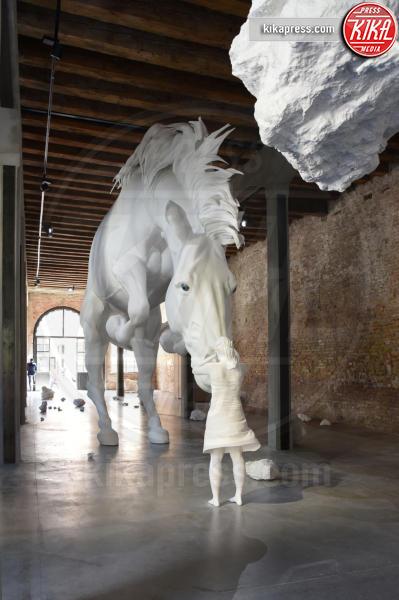 Padiglione Argentina - Venezia - 10-05-2017 - Maria Grazia Cucinotta ospite del padiglione Malta alla Biennale